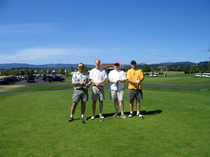 Corp. Golf Tourney - getting started