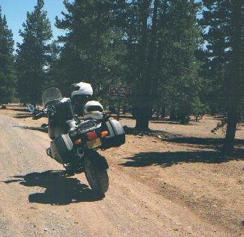 Start of the unmaintained Rd. 3-Creeks to Tumalo