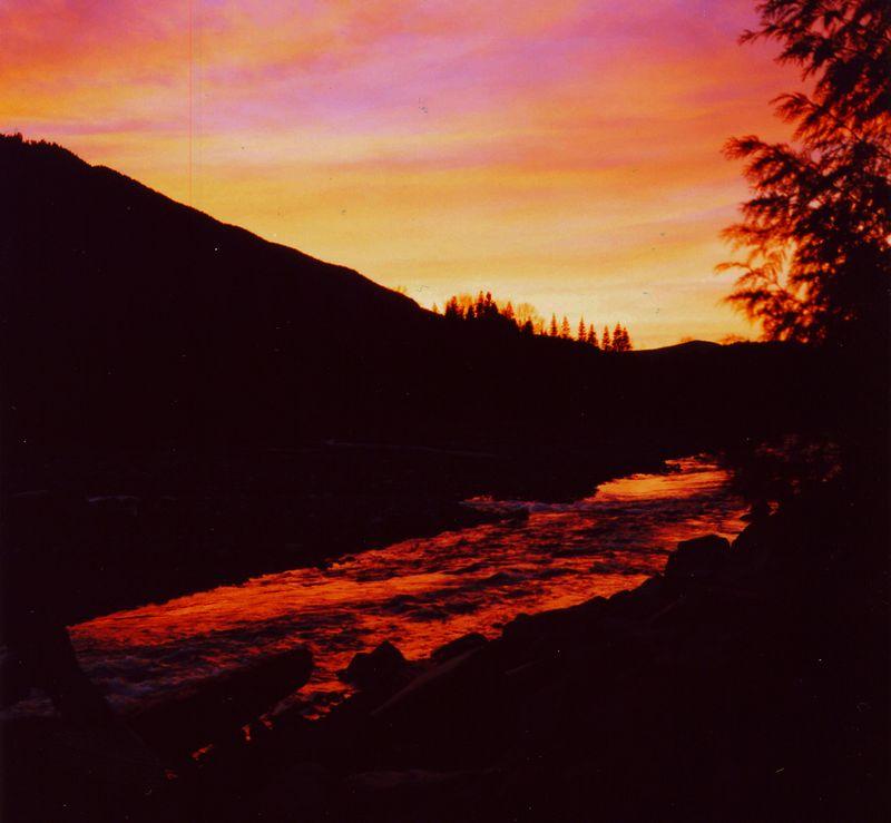 Snow Camp 2003 Sunset