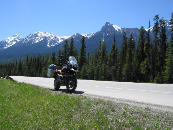 Kootenay National Park - on the way to Lake Louise.