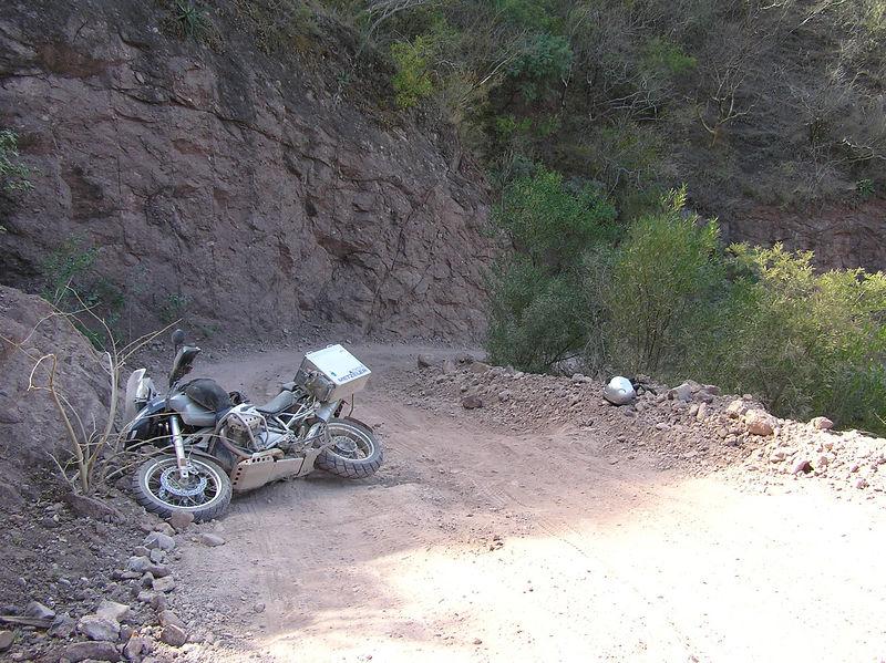 The big Mexico crash of '06. Near Tubares