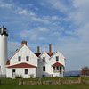 Point Iroquois Lighthouse on Whitefish Bah