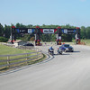 The main gate to Mid-Ohio Race Course