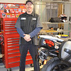 Howard Rantz, service manager at BMW Ventura, keeps the shop running at top speed.