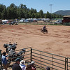 Jim Hyde of RawHyde Adventures moved a lot of dirt to get this rodeo practice course just right for the perfection of technical riding skills.
