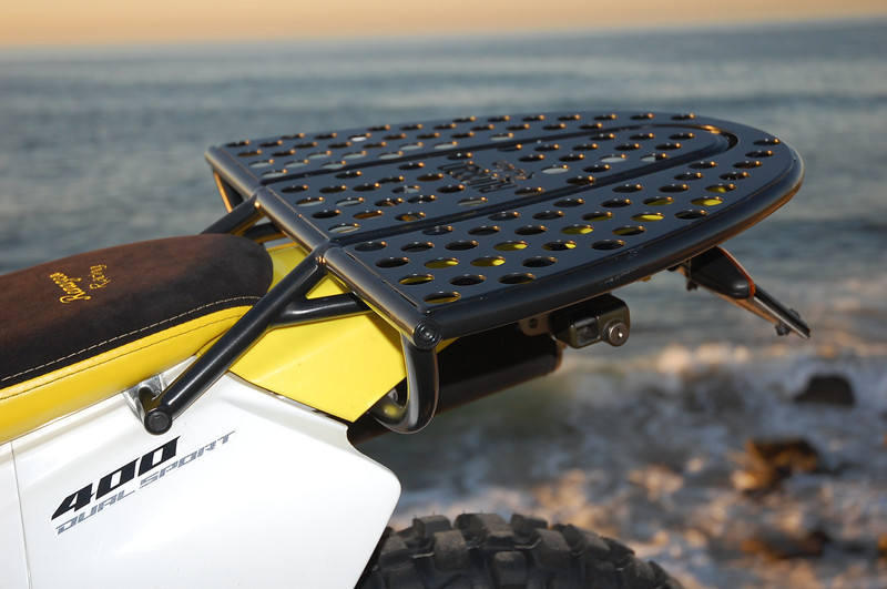 Details of the Rugged Rider Combo Rack.