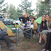 Old Overland Expo friends are thrilled with the first time they can all camp together at the event.