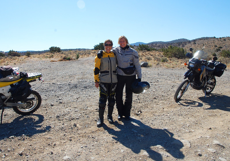First time Nicole and author Carla King have the chance to ride together.