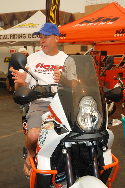 Dakar racer and top notch dirt instructor Jimmy Lewis goes over the ins and outs of suspension to set the bike up right.