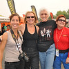 Prominent motorcycle ladies in the industry come together in sisterhood: Nicole Espinosa, Carla King, Mary McGee, and Nancy Foote.