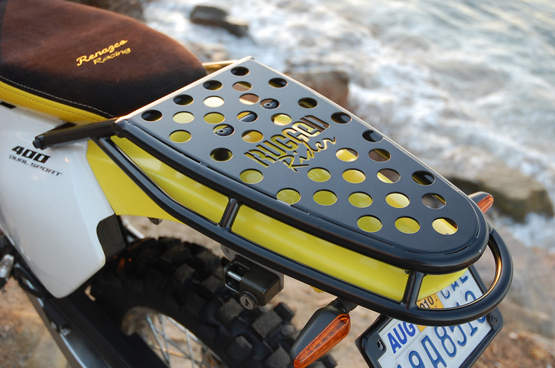 Nicole's aftermarket accessories business sells the Rugged Rider Sport Rack.
