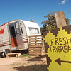 Grandkids of the Spider Rock campground in Canyon de Chelly sell homemade frybread to raise pocket money.