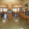 Just peeking into the Treebones Resort lodge shows the beautiful artisan quality that was built throughout the resort.