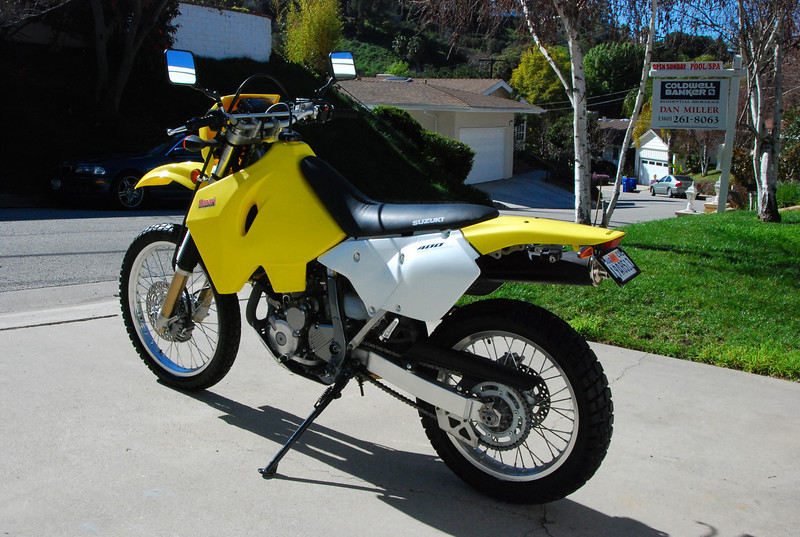 2008 slid in with a divorce and the house on the market. Luckily, a new DRZ brought hope, adventure, and the kids and I being able to keep the house for another year.