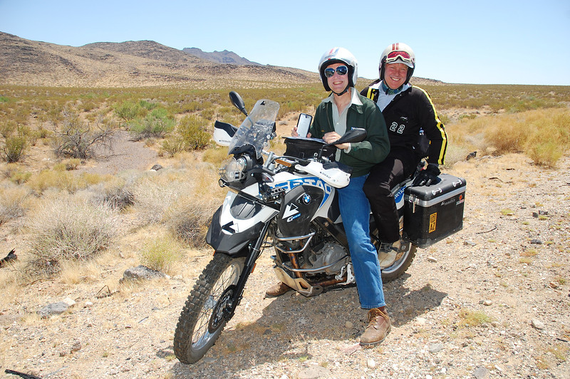 Austin Vince and Joe McManus of Mondo Enduro fame on their way to Overland Expo.