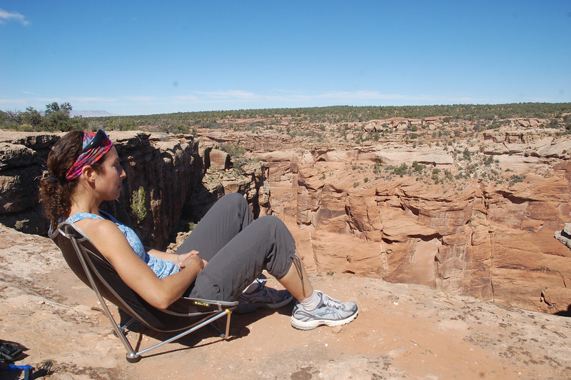 Clarity comes from having Canyon de Chelly all to myself for a full day.