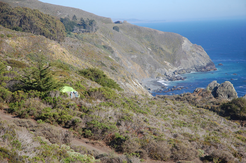 Our private campsite boasts the most magnificent 180 degree coastal view.