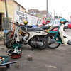 Scooter repair, Lima, Peru