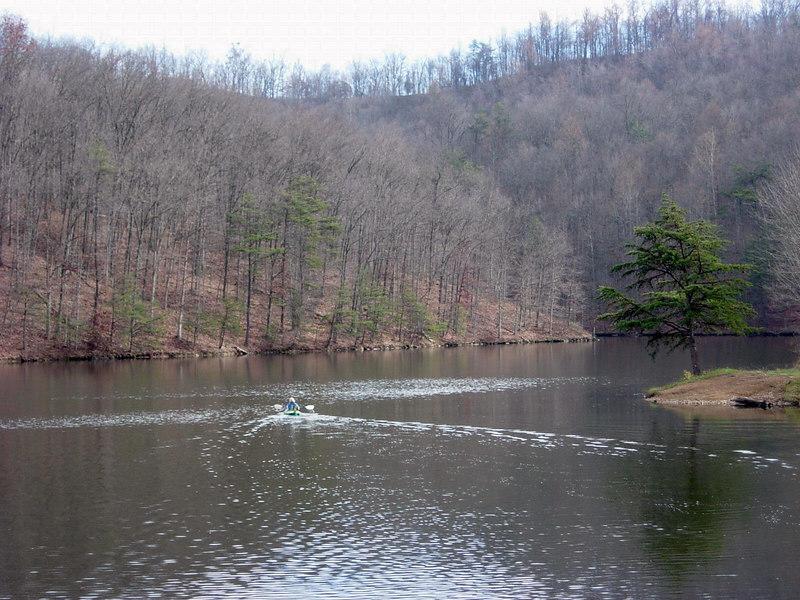 Charles Fork Lake near Spencer, WV