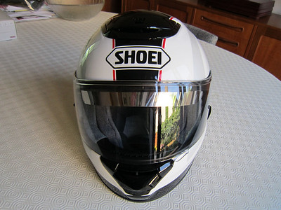"April 2011 - Shoei Qwest Paragon TC6 - great deal from:   http://www.justhelmets.co.uk  .....""Price Promise~ ;-)"