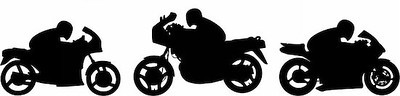 400-04371178 © nebojsa78 Model Release: No Property Release: No Motorcyclists silhouettes - vector illustration