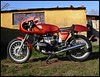 "Great looking Cafe Racer / Flat Racer based on a BMW R80RT - photo from  <a href=""http://www.flatracer.com"">http://www.flatracer.com</a>"
