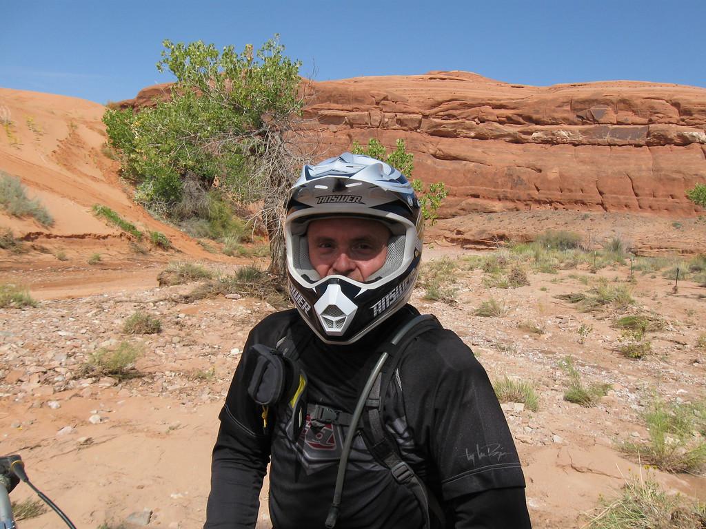 Larry near WhiteWash dunes, near Green River, Utah