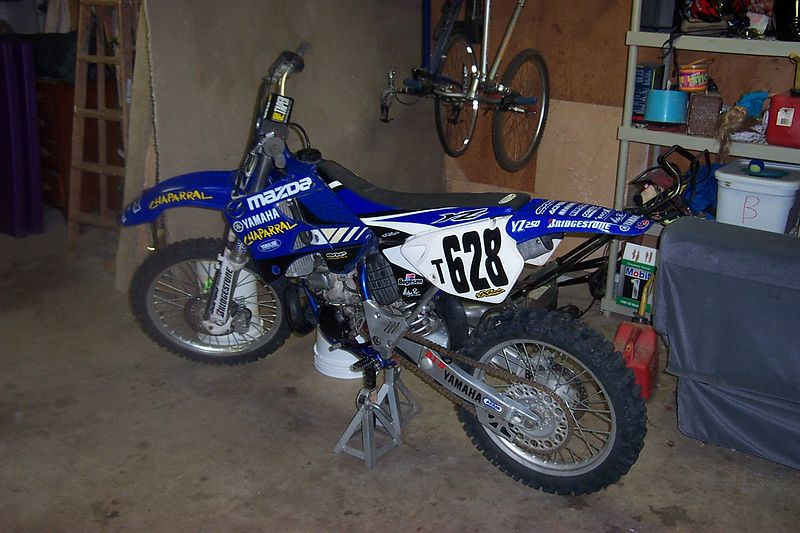Old bike - YZ250 used for Texas Cross Country Association races.