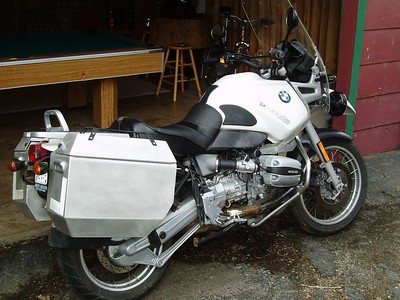 My current bike - 1999 R1100GS