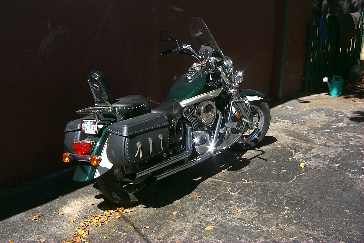 Old bike - 1997 Kawasaki 1500 Classic
