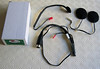 Autocom 7 pin din headset loom - helmet speakers and microphone set