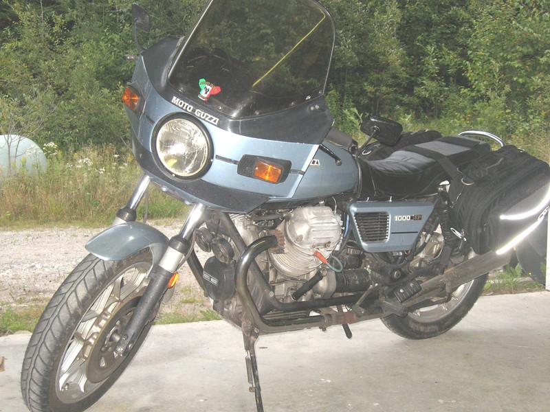 1980 Moto Guzzi 1000SP.