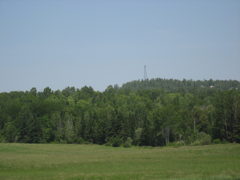 Fire tower viewed from the Victoria Salter Back Line.