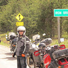DR750 on the Deer Trail with Phil Chandler and some of his friends.