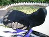 AlaskaLeather.com sheepskin 'butt pad'. Plush, nice, comfortable.