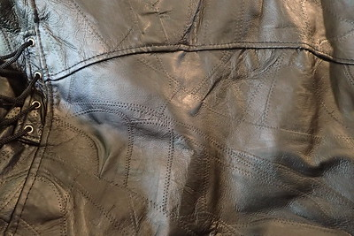 leather jacket large, texture