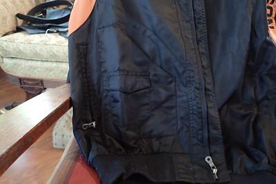 HD Nylon Jacket, Asymmetrical front pocket