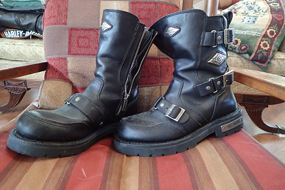 HD Boots, largely unused 7.5