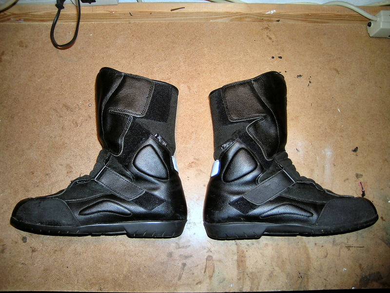 Left and right boots
