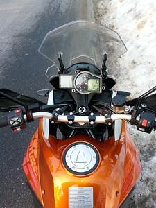2014 KTM 1190 Test Ride