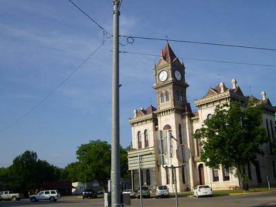 Bosque County Courthouse in Meridian