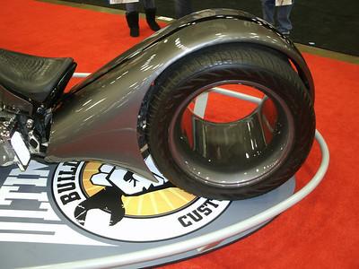 Interesting rear wheel!