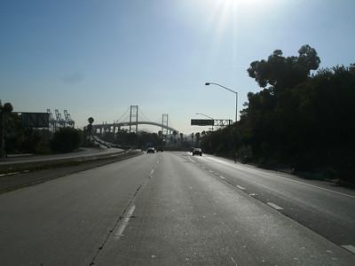 Heading into Long Beach.