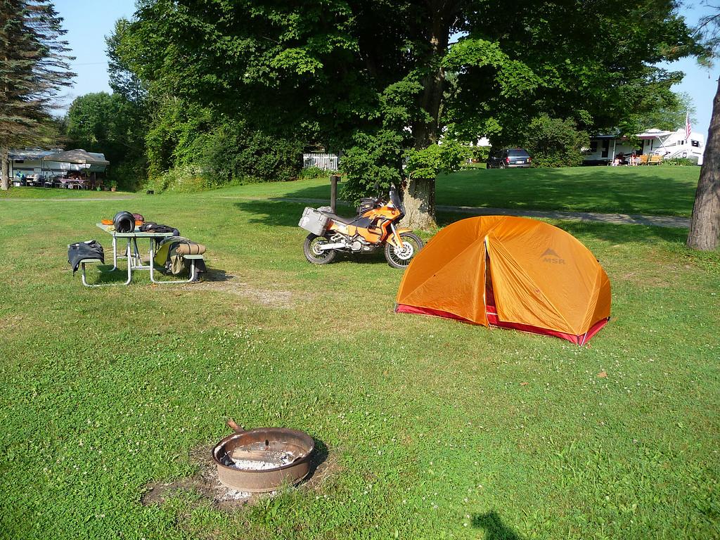 Champagne Campground Randolph VT 7-10