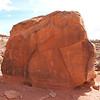 Ancient Anasazzi (I think) rock art