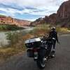 Scenic Rt 128 up the Colorado River north out of Moab.