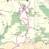 These are the GPS Tracks for our 6 Days of riding around.