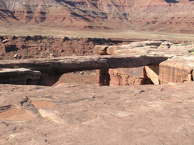Musselman Arch on the White Rim Trail