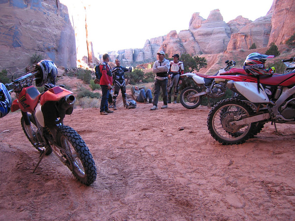 Moab Dirt Biking - October 2006