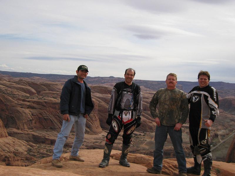 Giovani, Ken, Steve and I